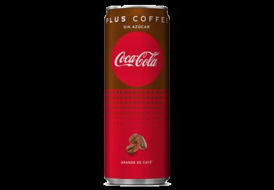 Coca-Cola Plus Coffee, sin azúcar y con un delicioso sabor a café