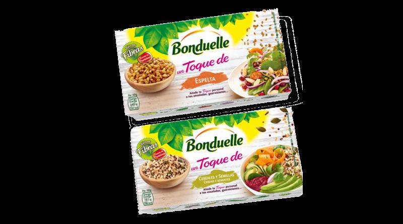 """Bonduelle amplía su gama """"Un toque De"""""""