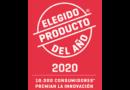 Elegido Producto del Año 2020