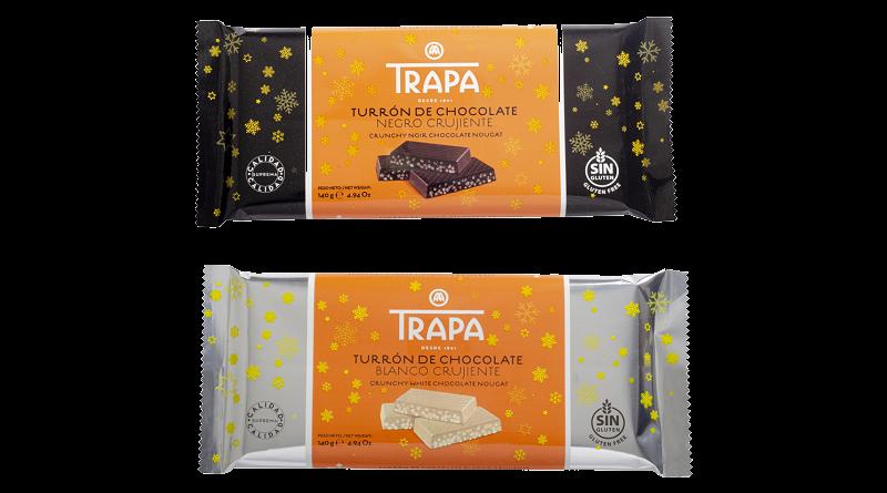 Trapa amplía su gama de turrones para Navidad con dos nuevas referencias