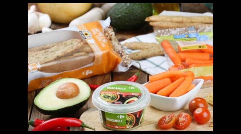 Carrefour presenta el primer guacamole picante del mercado