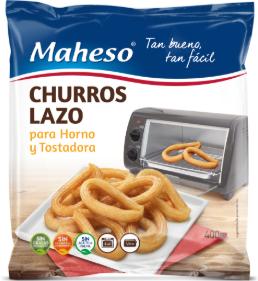 Churros Lazo, nueva propuesta de Maheso