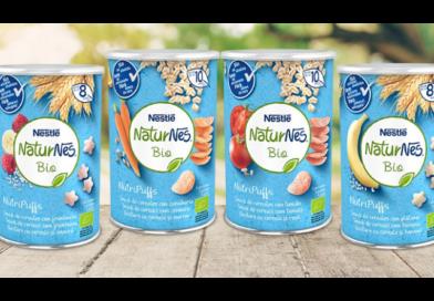 """Nestlé lanza NaturNes Bio """"NutriPuffs"""""""