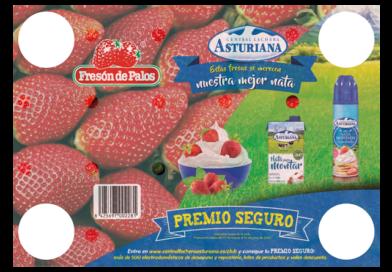 """""""Las mejores fresas se merecen la mejor nata"""""""