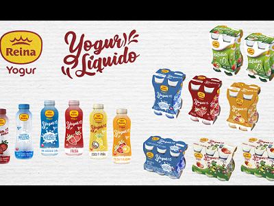 Postres Reina, 14 nuevas referencias de yogures líquidos