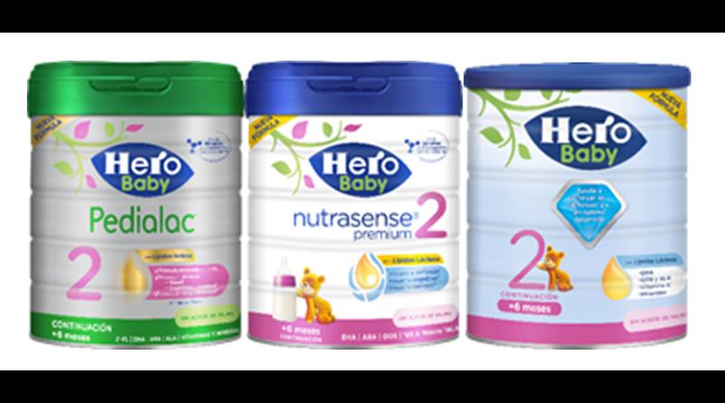 Hero Baby presenta sus nuevas fórmulas infantiles inspiradas en la leche materna