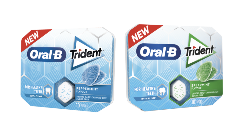 Nuevos chicles Trident Oral-B