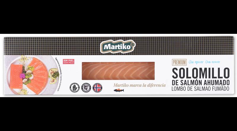 Ahumados Martiko lanza el solomillo de salmón ahumado en formato familiar