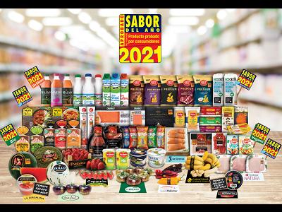 Los 65 productos Premiados SABOR DEL AÑO 2021