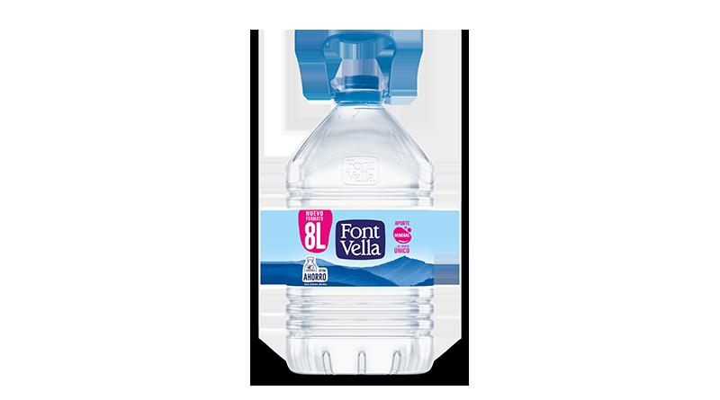 Font Vella lanza una nueva garrafa de 8L