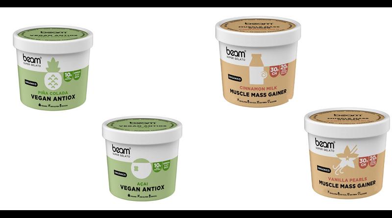 Beam Super Gelato, primer helado orgánico y artesanal para deportistas