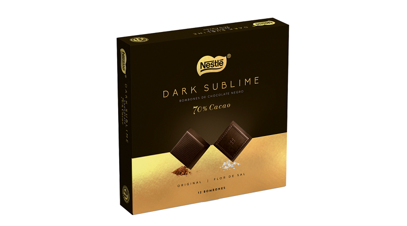 Deléitate con Nestlé Dark Sublime